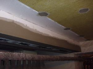 Zateplení stropu suterénu
